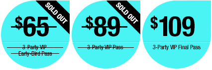3 Party VIP EB Reg Sold