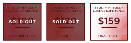 HHB 2017 Ticket 3PartyVIPLounge SO