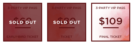 HHB 2017 Ticket 3PartyVIP SO