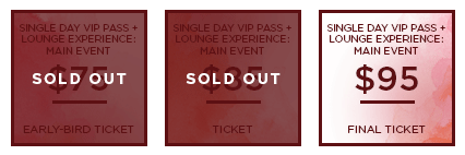 HHB 2017 Ticket MainEvent SingleDayVIPLounge SO