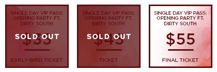 HHB 2017 Ticket SingleDayVIP SO